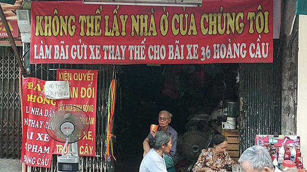 Hanoi residents