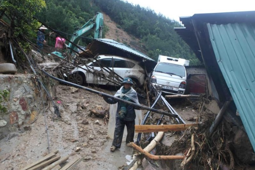 Flood in Northern Vietnam
