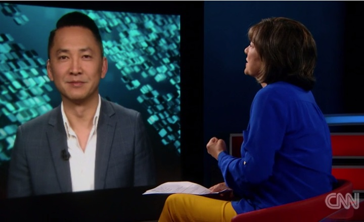 Viet Thanh Nguyen with Christine Amanpour