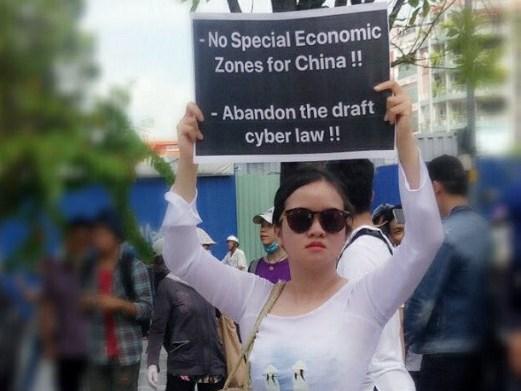 Protesting SEZ