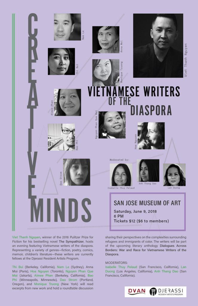 June 9 2018 Creative Minds Flyer