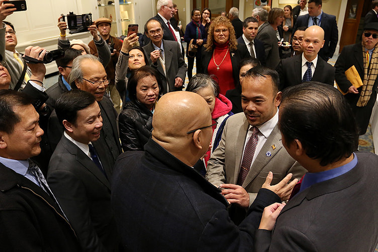 Senate victory another first for Dean Tran