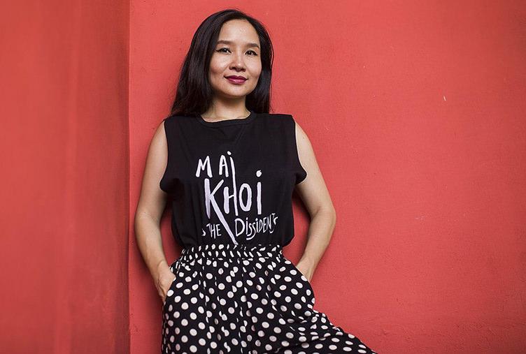 Mai Khoi, Vietnamese artist, celebrity, and dissident musician