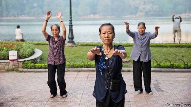 Elderly citizens