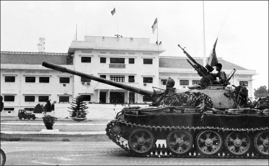 NVA entering Saigon