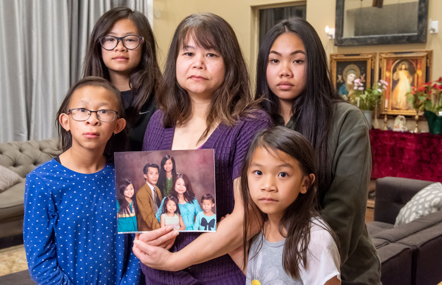 Michael Phuong's family of detained US citizen
