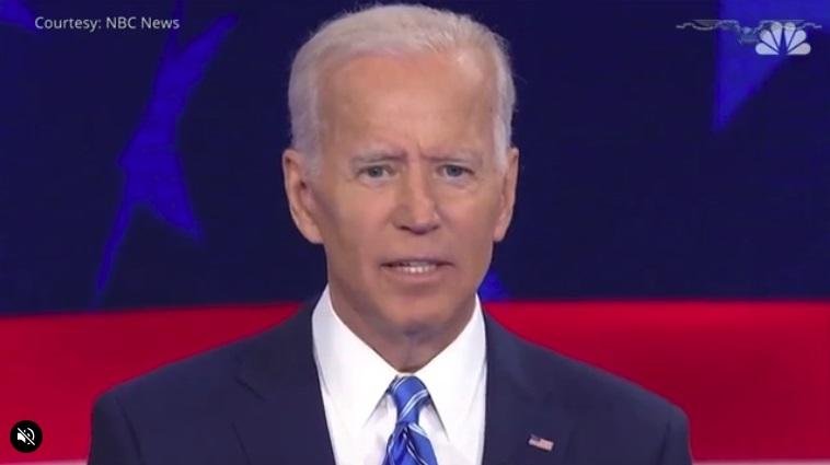 US Senator Joe Biden