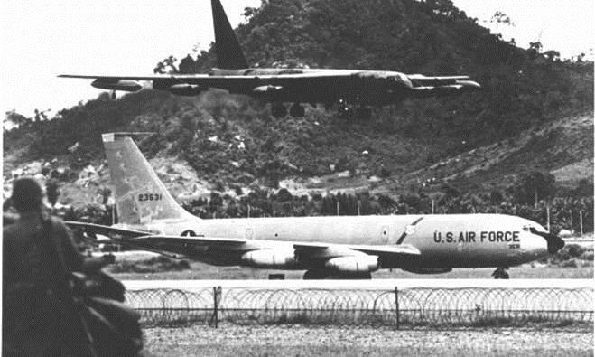 B52s at Thailand U-Tapao Air Base