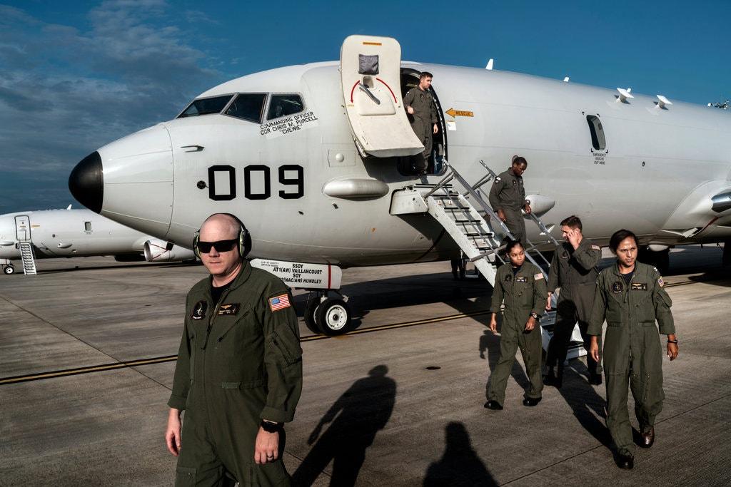 U.S. Navy reconnaissance plane