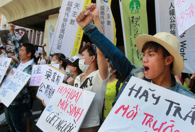 Vietnamese protesters