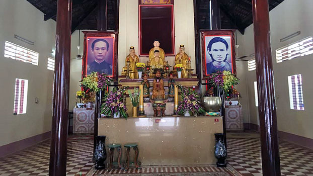 Quang Minh Tu temple in Cho Moi district of south Vietnam's An Giang province