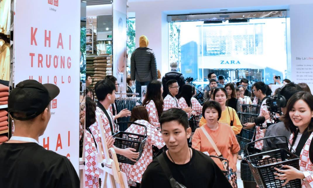 First Uniqlo store in HCMC