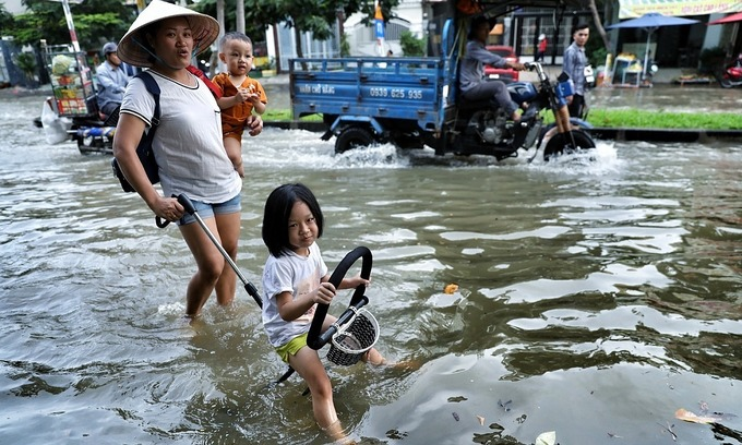 Climate change affecting Vietnam