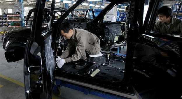 Vietnamese auto workers