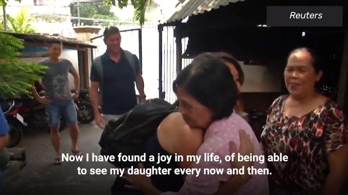 Nguyen Thi Dep reunites with daughter