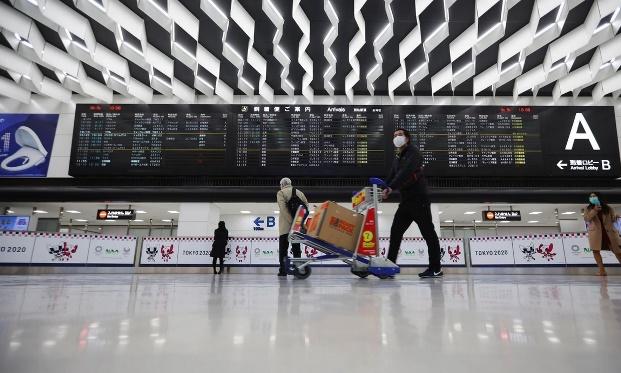 Narita airport during COVID-19